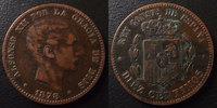 1878 Espagne, Spain Espagne, Spain, 10 centimos 1878, Alphonso XII, TT... 11.31 US$ 10,00 EUR  +  9.62 US$ shipping