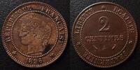 1891 A France 2 Centimes cérès 1891 A Paris, G.105 TTB ss  9.62 US$ 8,50 EUR  +  9.62 US$ shipping
