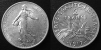 1917 France 2 Francs Semeuse de Roty 1917, G.532 SUPERBE vz  10.75 US$ 9,50 EUR  +  9.62 US$ shipping