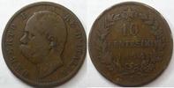 Italie, Italia, Italiane  Italie, 10 centesimi 1894 R, Umberto I, KM.27.2 TB à TTB