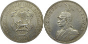 1/2 Rupie 1891 Deutsch-Ostafrika J712 1/2 Rupie f.stgl