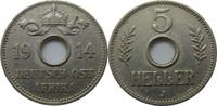 """Deutsch-Ostafrika 5 Heller J718 5 Heller """"J"""""""