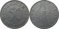 """Deutschland 50 Rpf J372 50 Reichspfennig """"G"""""""