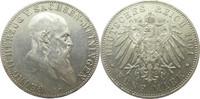 "Deutschland Sachsen-Meiningen 5 Mark J150 5 Mark Georg II. ""D"""