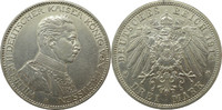 "Deutschland Preussen 3 Mark J113 3 Mark Wilhelm II. ""A"""