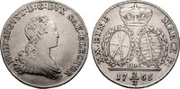 Sachsen 2/3 Taler Friedrich August III. 1763-1806