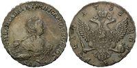 Rubel 1755 Russland, Elisabeth Petrovna, 1741-1761, f.vz/vz  1465,00 EUR kostenloser Versand