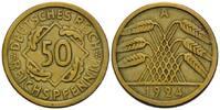 Weimarer Republik, 50 Pfennig 1919-1933,