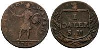 Daler Silvermynt 1717, Schweden, Karl XII., 1697-1718, Notmünze, ss  34,00 EUR kostenloser Versand