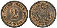 2 Pfennig 1874 A, Kaiserreich, Kleinmünze, f.st  34,00 EUR kostenloser Versand
