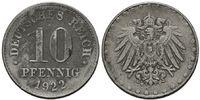 Deutsches Reich, 10 Pfennig Ersatzmünze 1. Weltkrieg,
