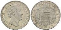 Taler 1849 F, Sachsen, Friedrich August II...