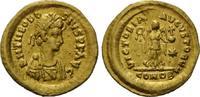 AV Tremissis, Konstantinopel, (416) Röm. R...