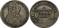 Krone (4 Mark) 1731 CW Dänemark, Christian VI., 1730-1746, ss  445,00 EUR kostenloser Versand