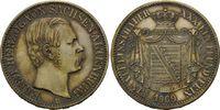 Vereinstaler 1869 B, Sachsen-Altenburg, Ernst, 1853-1908, kl.Kr., st fein  690,00 EUR kostenloser Versand