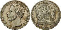 Vereinstaler 1865, Schaumburg-Lippe, Adolf Georg, 1860-1893, vz+  340,00 EUR kostenloser Versand