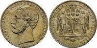 Vereinstaler 1865, Schaumburg-Lippe, Adolf Georg, 1860-1893, f.st  595,00 EUR kostenloser Versand