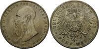Sachsen-Meiningen, 5 Mark Georg II., 1866-1914,