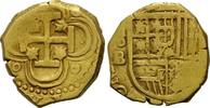 2 Escudos o.J. (1610-1621) Spanien, Philipp III., 1598-1621, ss+  985,00 EUR kostenloser Versand