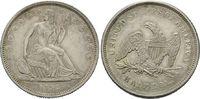 50 Cents 1839, USA, Liberty Seated Half Do...