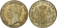 Doppelgulden 1854, Hessen, Ludwig III., 1848-1877, vz-st  595,00 EUR kostenloser Versand