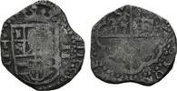 2 Reales (Jahr n.lesbar) Spanien, Philipp III., 1598-1621, s-ss  49,00 EUR kostenloser Versand
