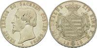 Taler 1848, Sachsen-Coburg-Gotha, Ernst II., 1844-1893, ss-vz  250,00 EUR kostenloser Versand