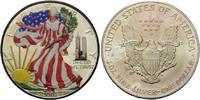USA, Dollar 2001 st Silber Eagle - World Trade Cen