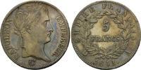 5 Francs 1811 Frankreich, Napoleon I. Bona...