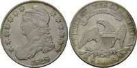 50 Cents 1828 USA, Liberty Caped, ss-vz