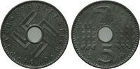 5 Reichspfennig 1940, Drittes Reich, Reichskreditkassen, vz/st  100,00 EUR kostenloser Versand