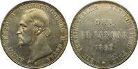 Vereinstaler 1869, Sachsen-Coburg-Gotha, Enst II., 1844-1893, st  495,00 EUR kostenloser Versand