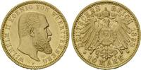 10 Mark 1898 F, Württemberg, Wilhelm II., ...
