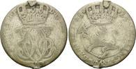 24 Skilling 1745, Norwegen, Kleinmünze, Broschierspur, s  30,00 EUR kostenloser Versand