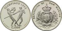 1000 Lire 1995, San Marino, Olympische Sommerspiele 2004 in Athen, PP  11,00 EUR kostenloser Versand