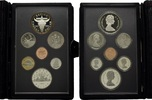 KMS 1982, Kanada, Royal Canadian Mint Proof-Set mit 1 Dollar 100 J.Regi... 19,95 EUR kostenloser Versand