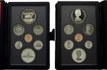 KMS 1985, Kanada, Royal Canadian Mint Proof-Set mit 1 Dollar 100 J.Nati... 19,95 EUR kostenloser Versand