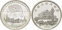 10 Yuan 1997, China, Tiananmen Tor - Gründung der Sonderverwaltungszone... 98,00 EUR kostenloser Versand