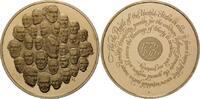 USA, Br.-Medaille Gedenk-Medaille der Franklin-Mint - 200 Jahre USA,