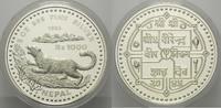 1000 Rupees 1988, Nepal, Schneeleopard, Etui, Zertifikat, PP  215,00 EUR kostenloser Versand