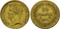 20 Francs 1931 A, Frankreich, Louis Philippe I., 1830-1848, kl.Randfehl... 365,00 EUR kostenloser Versand