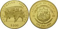 500 Dollars 2000, Liberia, Olympische Spiele in Sydney 2000 - Drei Spor... 745,00 EUR kostenloser Versand