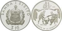 10 Tala 1994, Samoa, Geschichte der Seefahrt - Comte de la Pérouse, PP  29,00 EUR kostenloser Versand