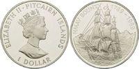 1 Dollar 1989, Pitcairn, 200 Jahre Meuterei auf der Bounty, PP  45,00 EUR kostenloser Versand