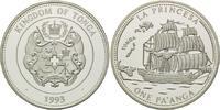 "1 Pa´anga 1993, Tonga, Segelschiff ""La Princesa"", PP  26,00 EUR kostenloser Versand"
