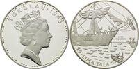 5 Dollars 1993, Tokelau, Geschichte der Seefahrt - Segelschiff H.M.S. P... 26,00 EUR kostenloser Versand