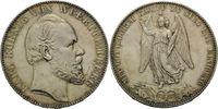 Vereinstaler 1871, Württemberg, Karl, 1864-1891, kl.Kr., kl.Fleck, vz-f... 190,00 EUR  plus 9,90 EUR verzending