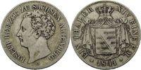 Vereinstaler 1841, Sachsen-Altenburg, Joseph, 1834-1848, ss  215,00 EUR  plus 9,90 EUR verzending