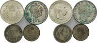 Haus Habsburg, Lot Silbermünzen Lot Kleinmünzen aus Österreich und Ungarn,