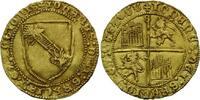 Kastilien und Leon, Dobla de la banda o.J., Johann II., 1406-1454 l.prägeschwach, ss+